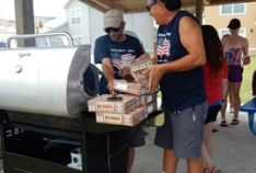 Patrick 2016-Memorial Cookout Event